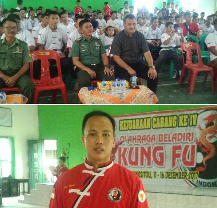 Perguruan Naga Merah Buka Kejuaraan Kungfu