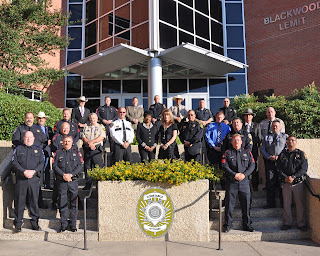 The Constables Leadership College Class #9 included representatives from 25 offices across the Texas.