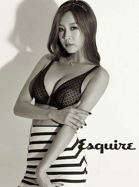nine muses sungah esquire korea 2014