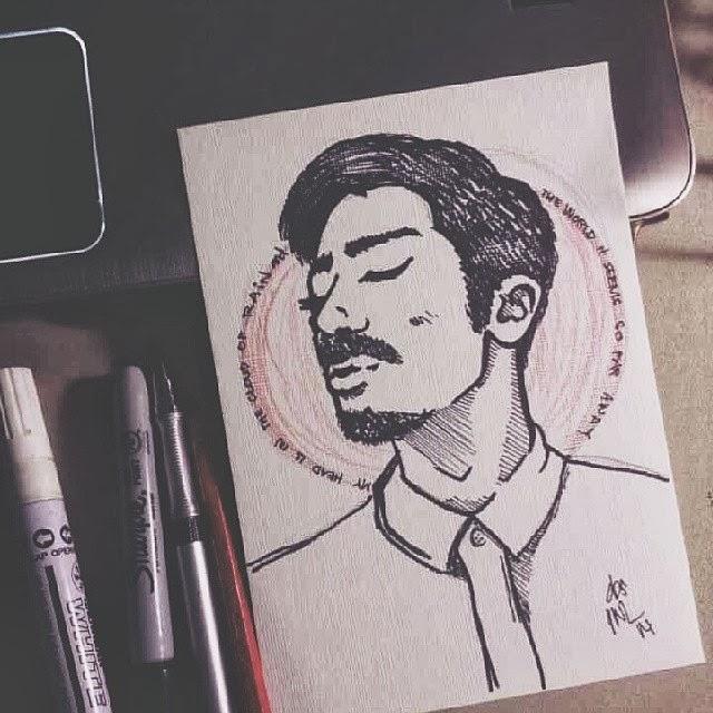 [ Doodle ] making Steven Indrajaya