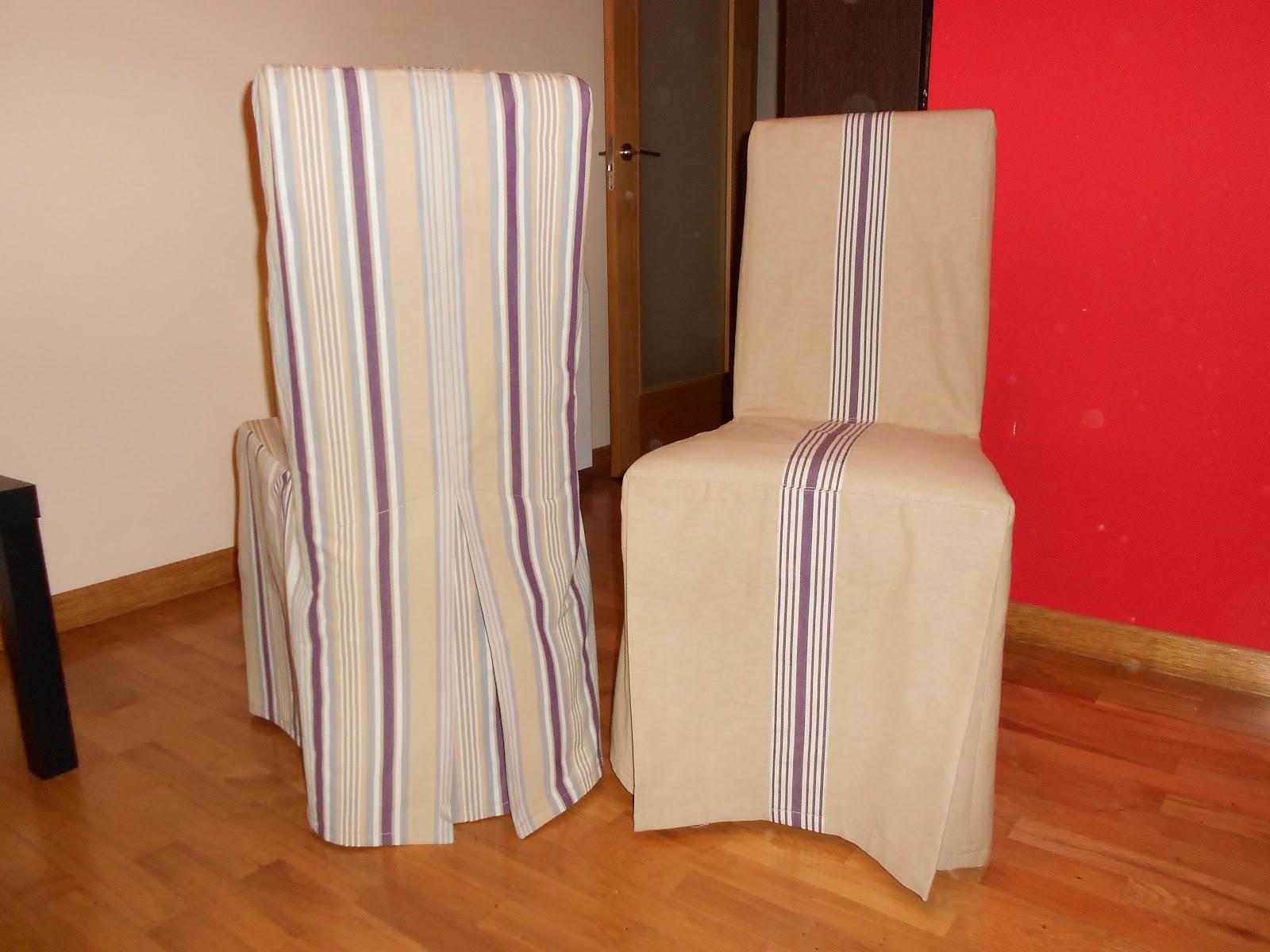 A base de puntadas fundas para sillas for Fundas de sillas ikea