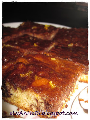 portakal suyu eklenmiş kek