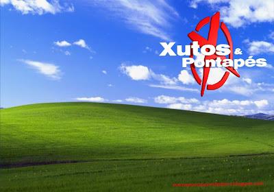 Logotipo dos Xutos e Pontapés Wallpapers em fundo de tela clássico paisagem do Alentejo