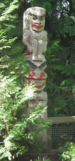 Bear Pole at Capilano Suspension Bridge