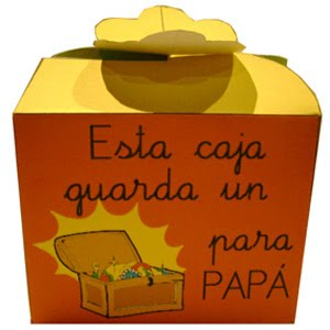 Pincha en la caja papá