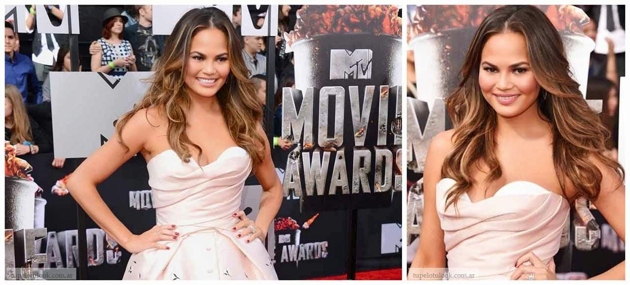 cortes pelo 2014 ondas iluminación MTV
