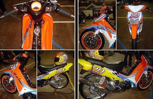 Gambar modifikasi motor yamaha f1zr Terbaru Sporty dan Keren title=