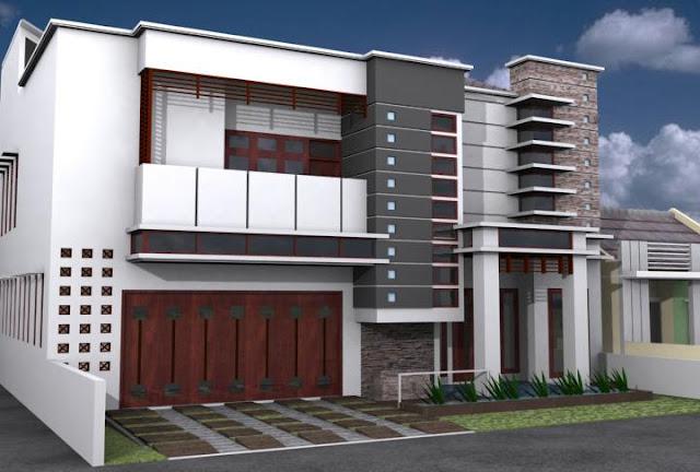 desain rumah minimasli, design rumah modern,