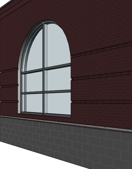 Revit Curtain Wall : Revit oped curved curtain wall edges