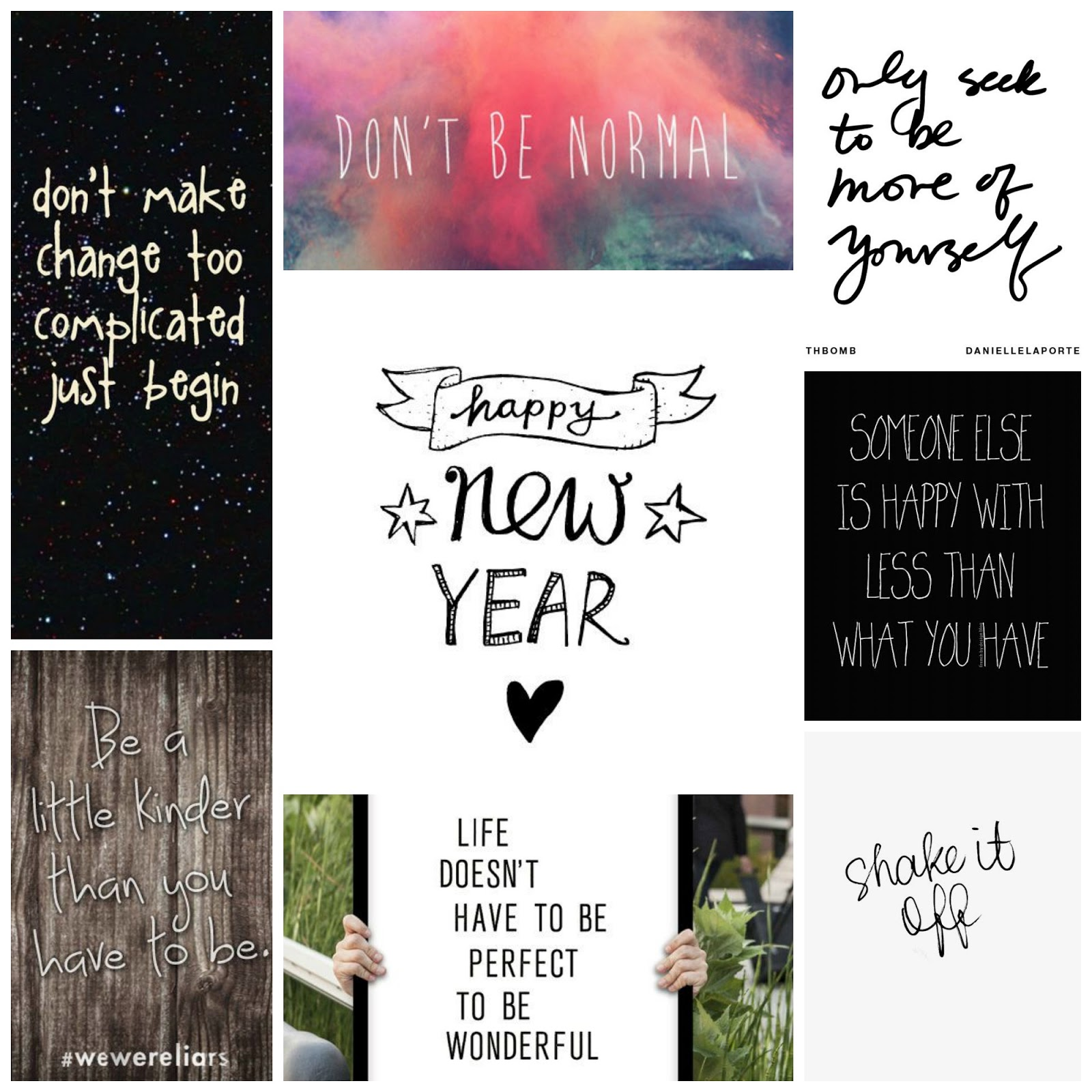 Quotes for the New Year | Seek My Scribbles