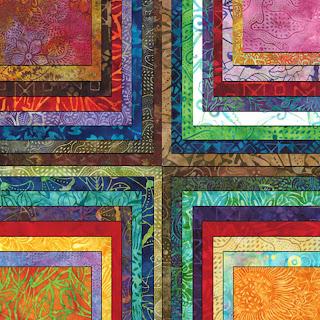 Moda BREEZY BATIKS Quilt Fabric by Moda Fabrics Fat Quarter Bundles Jelly Rolls Charm Packs