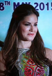 Actress Sunny Leone Pictures in Long Dress at Kuch Kuch Locha Hai Promotion 11