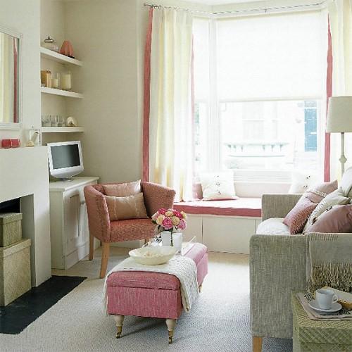 Como Decorar Sala De Estar Pequena E Simples ~ Salas pequenas