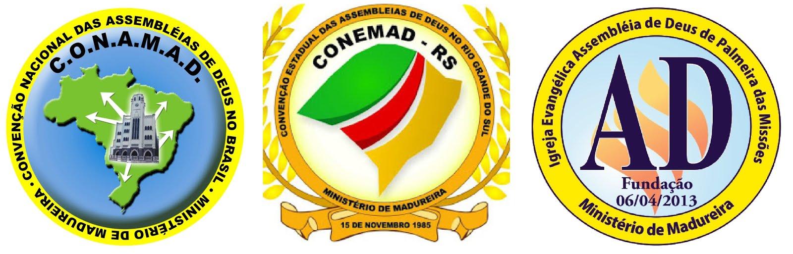 CONAMAD - CONEMAD/RS - CAMPO DE PALMEIRA DAS MISSÕES - MINISTÉRIO DE MADUREIRA
