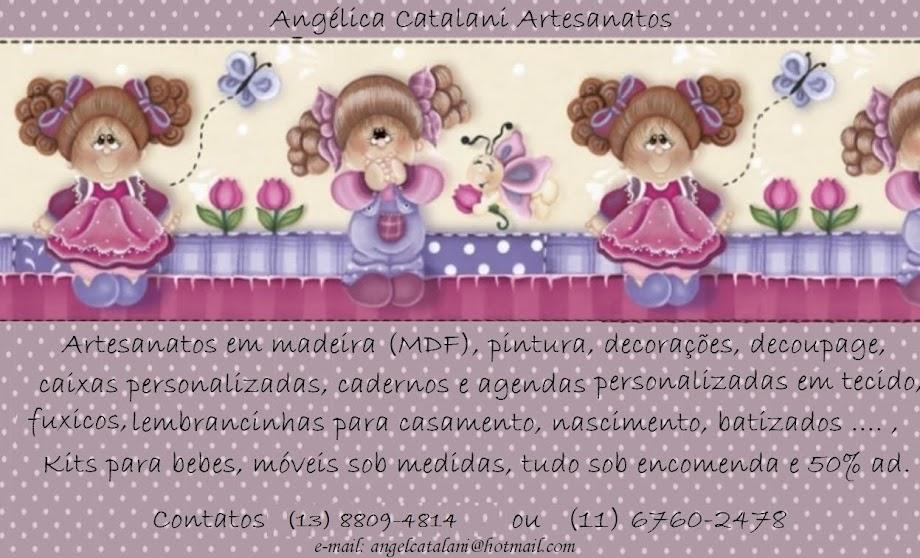Angelica Catalani Artesanatos em geral  ..... contato (13) 3422-3868