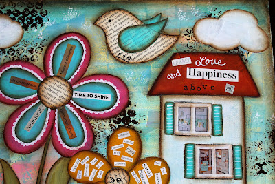 Mixed Media Vision Board Class, Painting, Inspiring, Sue Allemand, Stephanie Ackerman