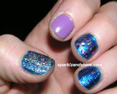 pop+beauty+Aquatic+Glitz+Confetti+nail+varnish+orly+stone+cold+heart+mua+love+u+24