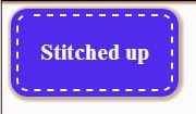 Stitched Button CSS