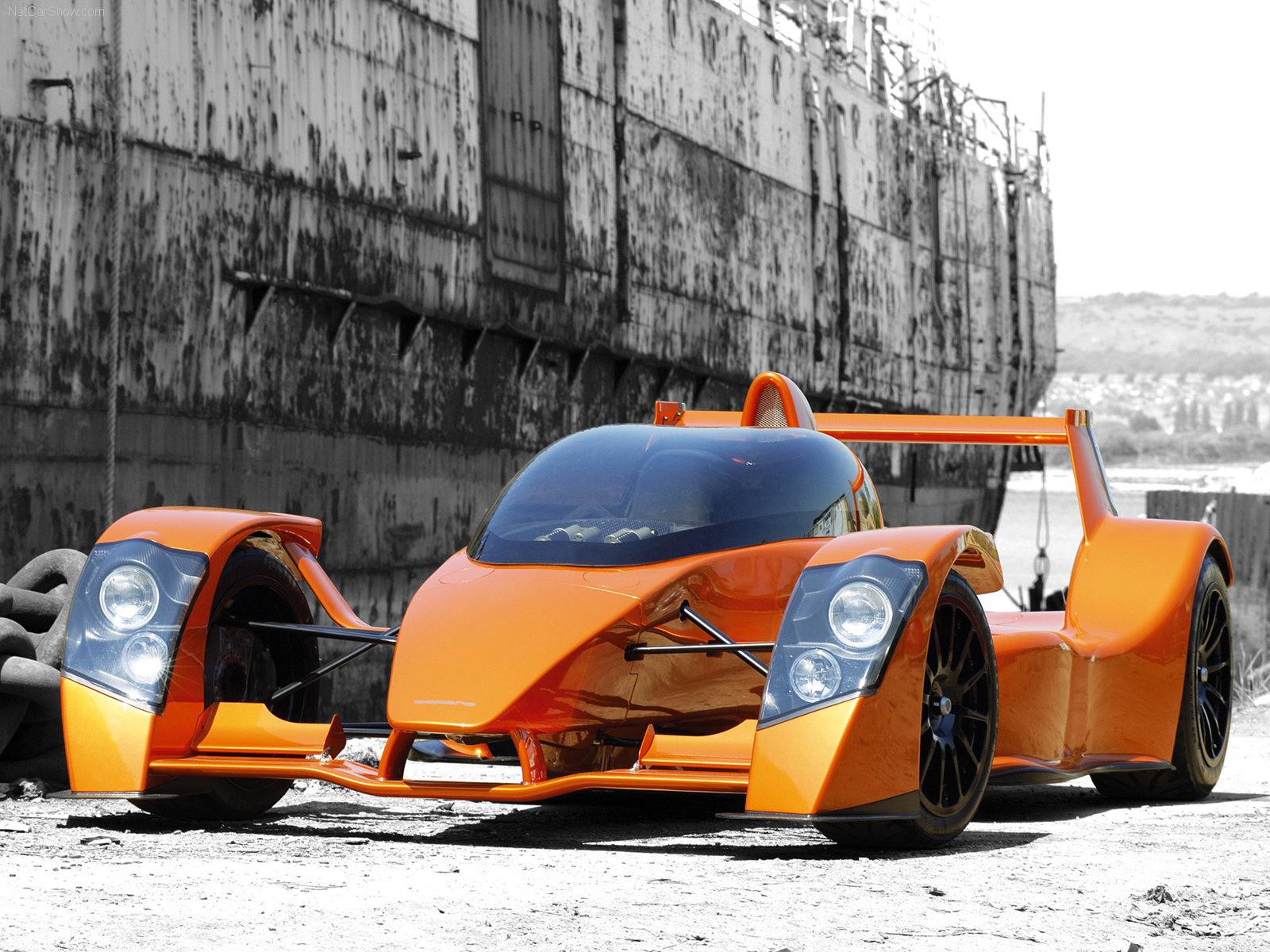 Hình ảnh siêu xe Caparo T1 2006 & nội ngoại thất