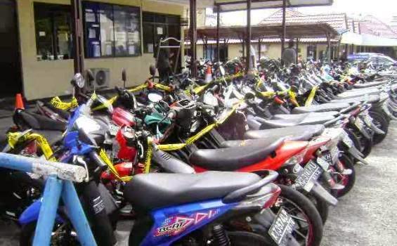 Polantas 'Garuk' 1.200 Unit Sepeda Motor Bermasalah