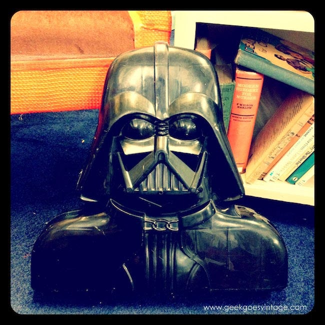 Vintage Darth Vader Figure Case