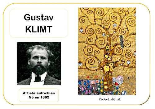 Gustav Klimt - Portrait d'artiste en maternelle