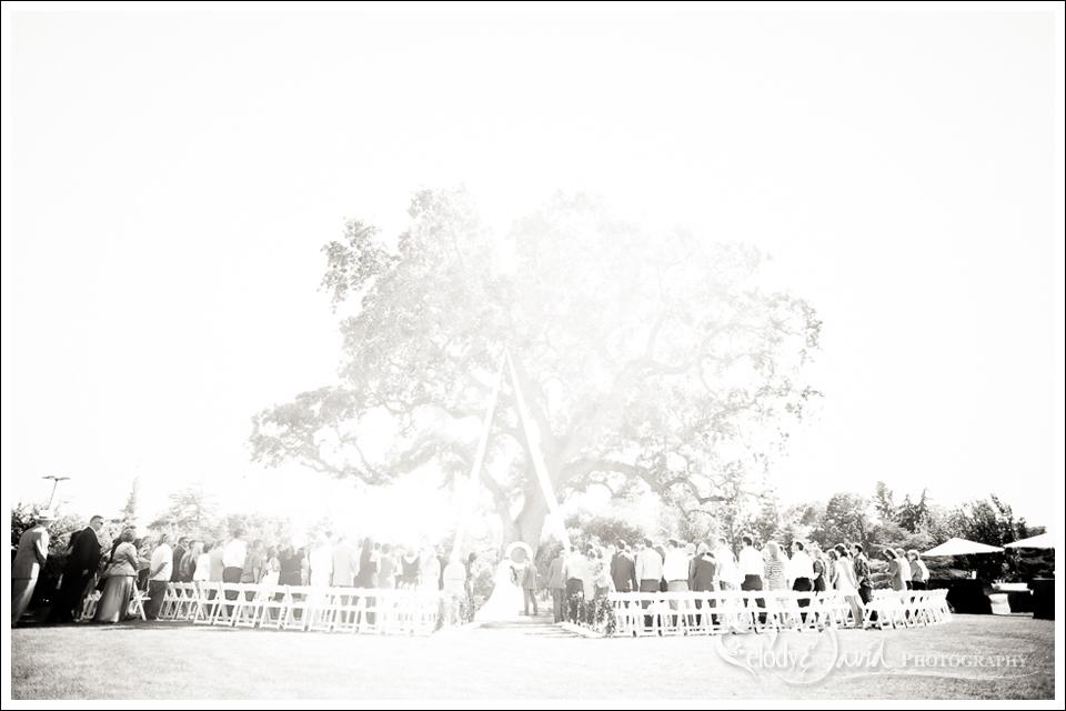 Ceremony site at Del Rio Country club in Modesto