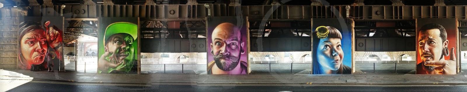 Heads, Broomielaw, Clyde Viaduct, Glasgow