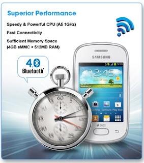Samsung Galaxy Star Superior Performance