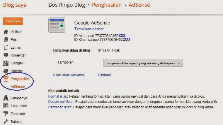 Cara Cepat Mendaftarkan Blog Agar diterima Google Adsense