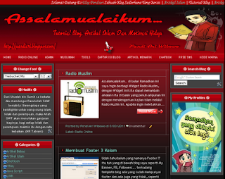 Merubah Lebar Template Blog