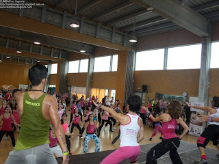 PARTY IN PINK ZUMBA EN MADRID_con ZUMBA en Segovia
