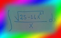 Video. Cálculo  de una antiderivada  usando el método de integración por sustitución trigonométrica