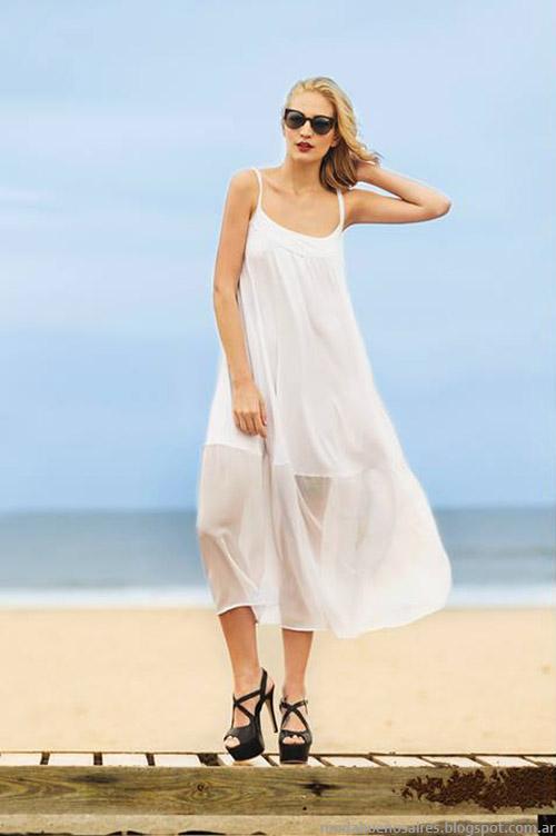 Moda verano 2015 Agogo vestidos y looks casual chic.
