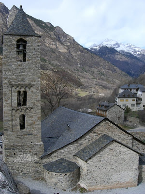 Sant Joan de Boí Romanesque church in Vall de Boí