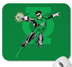 Green Lantern Mousepads!