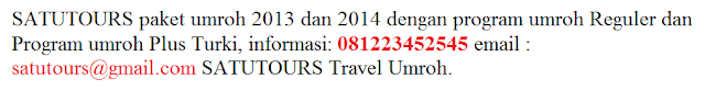 Info Paket Travel Perjalanan Umroh Bandung