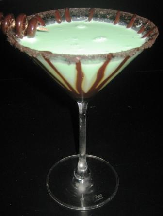 The Sweetest Temptations: Thin Mint Martini