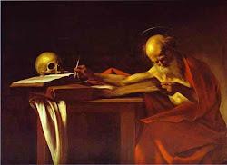 São Jerônimo que escreve, de Caravaggio (1571–1610)