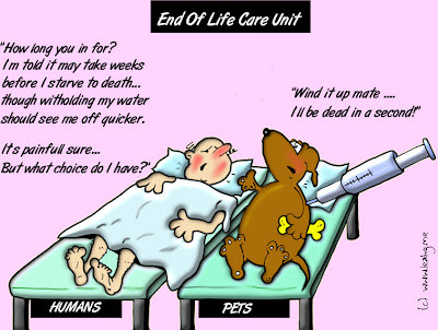 euthanasia death and devalue human life It is also about the people left behind who might feel the pain of death euthanasia,  everytime we devalue human life  the dignity of human life.