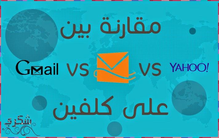 Gmail Hotmail Yahoo