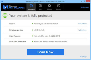Malwarebytes Anti-Malware Premium 2.1.8.1057 Multilingual Full Version