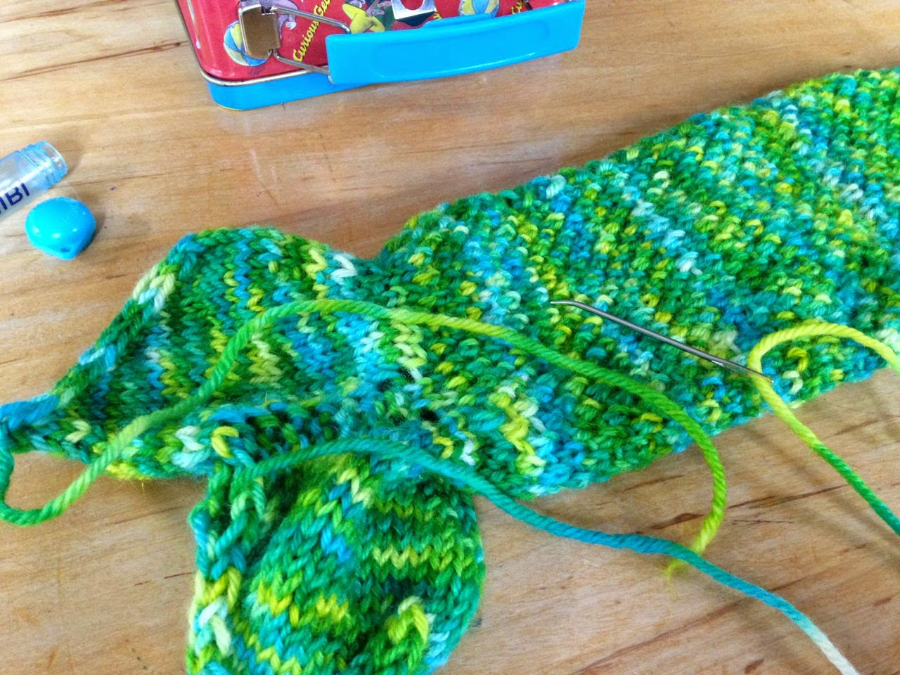 Mermaid Tail Knitting Pattern : Knits in Class: Tale of a Mermaid Tail
