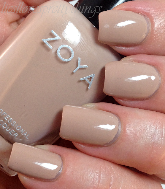 Zoya Taylor swatch and review