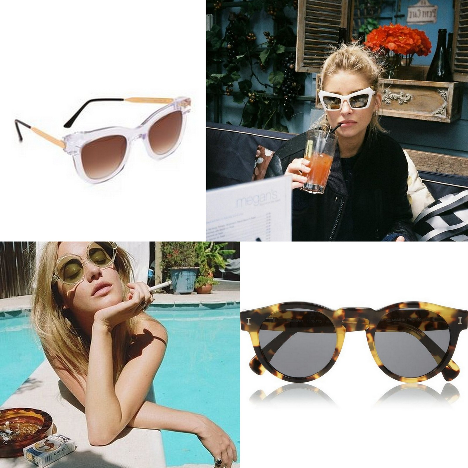 Trendy sunglasses summer