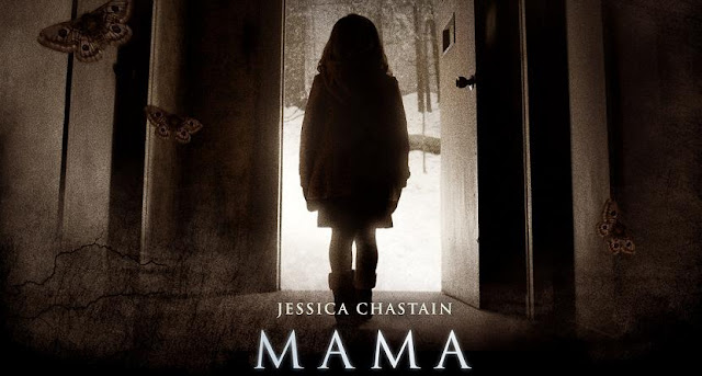 Mama little girl creepy poster