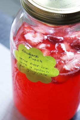 Potluck%2B %2Brhubarb%2Bpunch A Potluck!