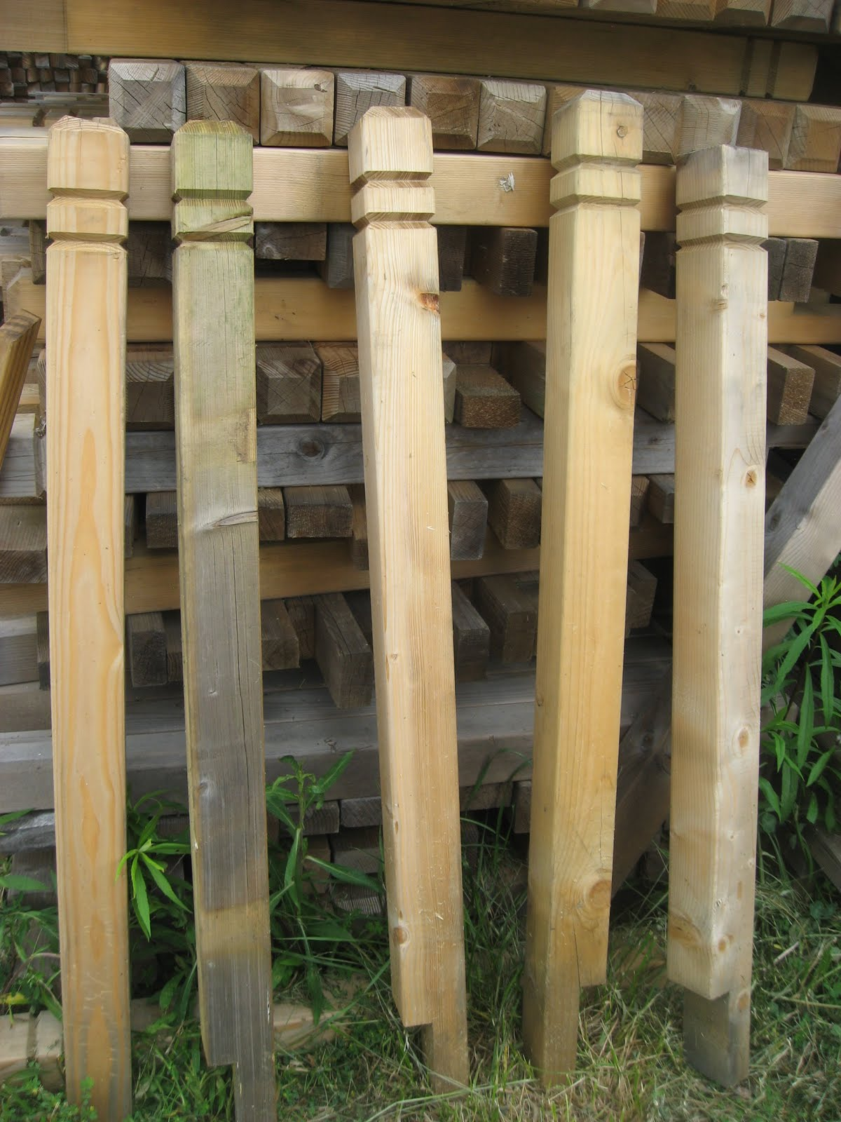 Blue ridge surplus decking and wood fence material