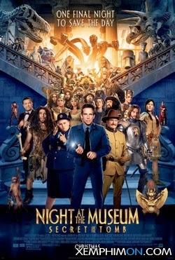 Đêm Ở Viện Bảo Tàng: Bí Mật Hầm Mộ Full HD Thuyết minh