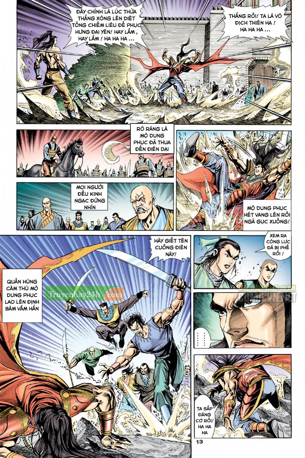 Thiên Long Bát Bộ chap 100 – End Trang 14 - Mangak.info